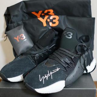 ワイスリー(Y-3)の【Y-3】JH BOOST 黒 B43876 BYW BBALL 26.5①(スニーカー)
