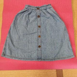 ジーユー(GU)のGU  デニムスカート 120(スカート)