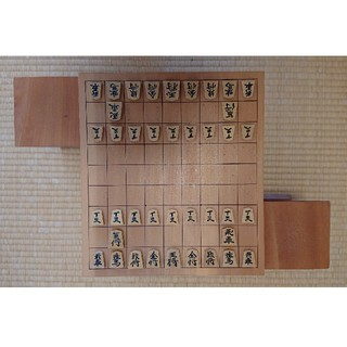 将棋盤・駒・駒台  3点セット(囲碁/将棋)