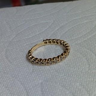 「白ゆり様決定です」k18 ブラウンダイヤ 1.00カラット フルエタニティ(リング(指輪))