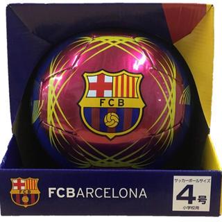 新品 バルセロナ サッカーボール 4号球 Real Madrid メッシ シャビ(ボール)