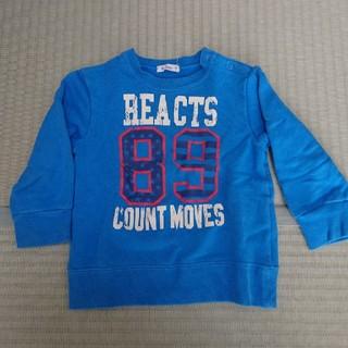 アコバ(Acoba)のAcoba長袖トレーナー90cm(Tシャツ/カットソー)