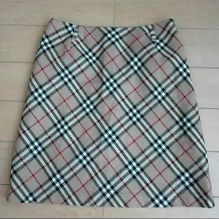 バーバリー(BURBERRY)のBurberry 台形スカート(ミニスカート)