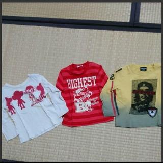 アコバ(Acoba)の男の子長袖90cm3枚セット(Tシャツ/カットソー)