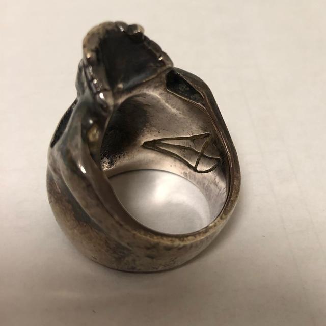 CRAZY PIG(クレイジーピッグ)の値下 クレイジーピッグ スカルリング ラージ メンズのアクセサリー(リング(指輪))の商品写真