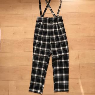 しまむら - チェック  パンツ   150cm