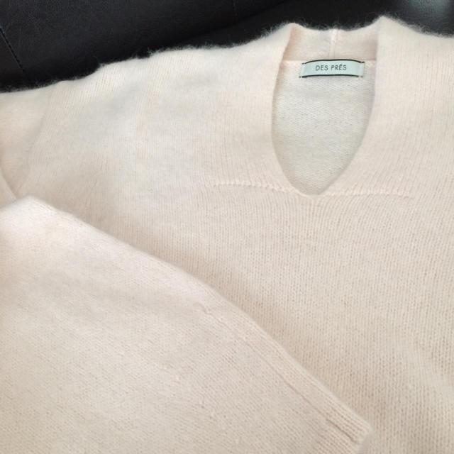 DES PRES(デプレ)のデプレ セーター ピンク レディースのトップス(ニット/セーター)の商品写真
