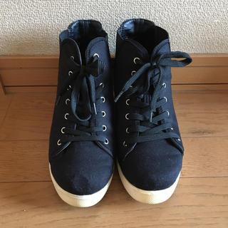 シマムラ(しまむら)の厚底ブーツ(ブーツ)