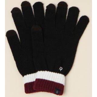 レイジブルー(RAGEBLUE)のRAGEBLUE タッチパネル ニット手袋 新品未使用(手袋)