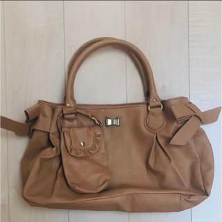 シマムラ(しまむら)の【新品】しまむらのバッグ 茶色 2(ハンドバッグ)