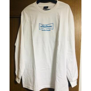 アフターベース(AFTERBASE)のwasted youth afterbase ロンT 青 L(Tシャツ/カットソー(七分/長袖))