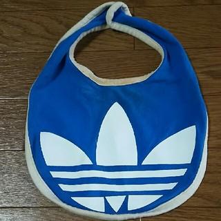 アディダス(adidas)のadidas★スタイ   ブルー×ホワイト(スタイ/よだれかけ)