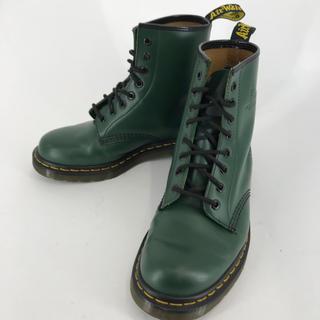 ドクターマーチン(Dr.Martens)のDr.martens ドクターマーチン 8ホールブーツ グリーン RT0027(ブーツ)