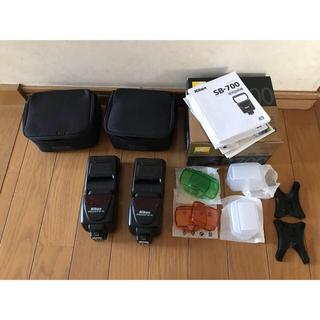 ニコン(Nikon)のNikon SB-700 2個セット ストロボ 美品(ストロボ/照明)
