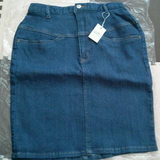 エージープラス(a.g.plus)のタイトスカート 未使用(ひざ丈スカート)