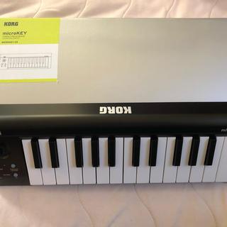 コルグ(KORG)のKORG USB MIDIキーボード マイクロキー 25鍵(MIDIコントローラー)