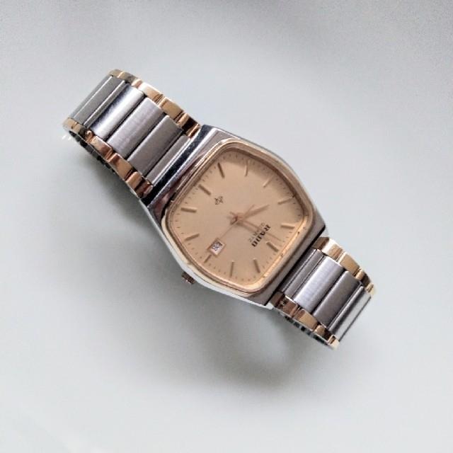 RADO(ラドー)のRADO(ラドー)のクオーツ腕時計 お値下げしました。 メンズの時計(金属ベルト)の商品写真