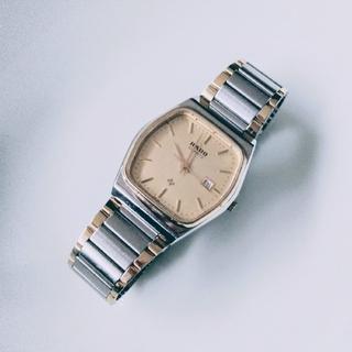 ラドー(RADO)のRADO(ラドー)のクオーツ腕時計 お値下げしました。(金属ベルト)