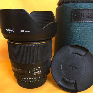 シグマ(SIGMA)の【完動品‼︎】SIGMA 28mm F1.8 EX DG ニコン用(レンズ(単焦点))
