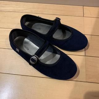 レペット(repetto)のshoes SALE■ victoria ■バレエシューズ ネイビー19 20 (フォーマルシューズ)