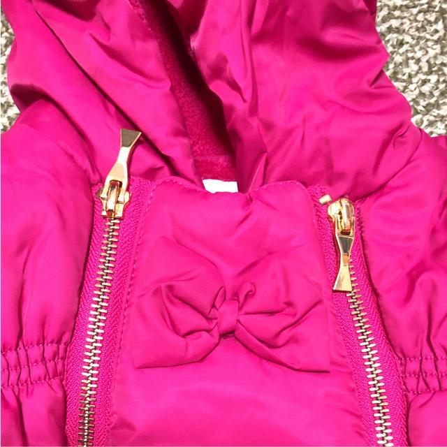 kate spade new york(ケイトスペードニューヨーク)の美品 ケイトスペード  ジャンプスーツ キッズ/ベビー/マタニティのベビー服(~85cm)(ジャケット/コート)の商品写真