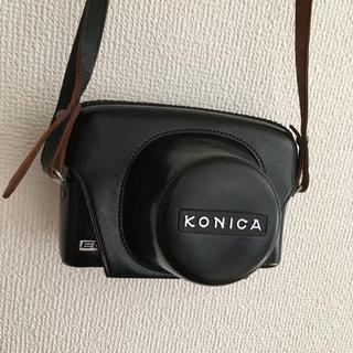 KONICA アンティーク カメラケース