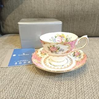 ロイヤルアルバート(ROYAL ALBERT)の新品♡カップ&ソーサー(グラス/カップ)
