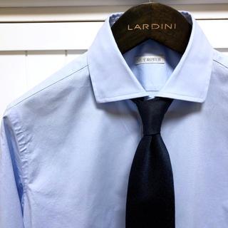 ギローバー(GUY ROVER)の【美品】ギローバー ストレッチシャツ サックス 39(シャツ)