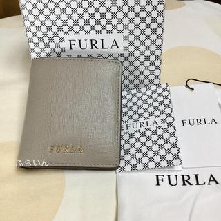 フルラ(Furla)の【新品未使用品】FURLA BABYLON S 折り財布 レザー  SABBIA(財布)