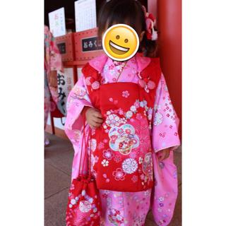 被布セット  3歳用 女の子(和服/着物)