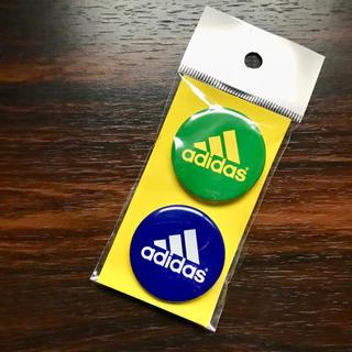 アディダス(adidas)の缶バッジ(バッジ/ピンバッジ)