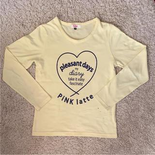ピンクラテ(PINK-latte)のピンクラテ ロンT xsサイズ 150(Tシャツ/カットソー)