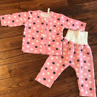 シマムラ(しまむら)のピンクの腹巻きパジャマ 80(パジャマ)