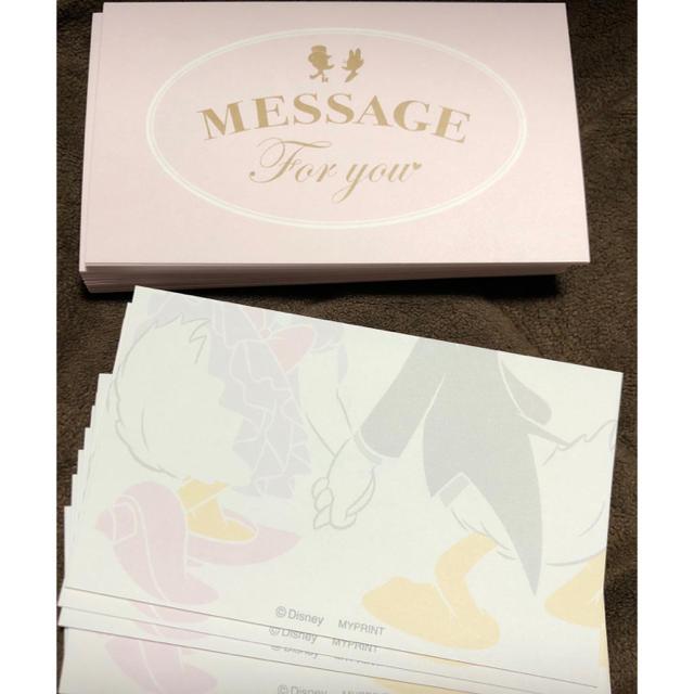 Disney(ディズニー)の結婚式 ドナルド デイジー メッセージカード ハンドメイドのウェディング(その他