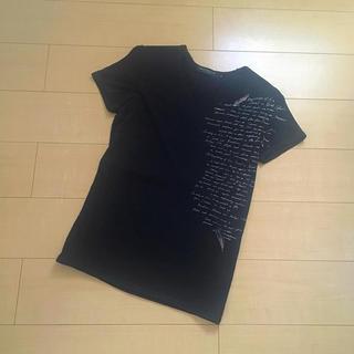 ジェネティックマニピュレイション(Genetic Manipulation)の❤︎Genetic Manipulation❤︎刺繍黒Tシャツ(Tシャツ/カットソー(半袖/袖なし))