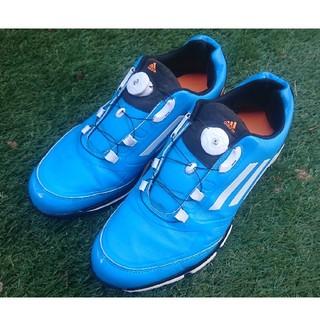 アディダス(adidas)のadidas アディダス ゴルフシューズ 27.5㎝ ソフトスパイク(シューズ)