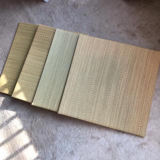 ムジルシリョウヒン(MUJI (無印良品))の無印良品 置き畳 4枚セット(その他)