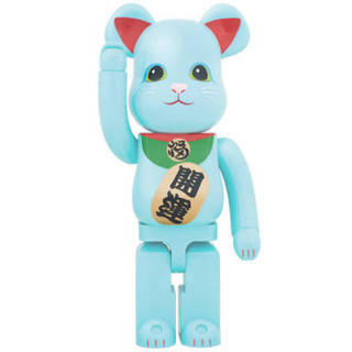 BE@RBRICK 招き猫 青蓄光 1000% メディコムトイ
