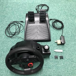 プレイステーション4(PlayStation4)のハンコン ロジクール DF GT(LPRC-14000) PS4変換付(その他)