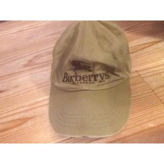 バーバリー(BURBERRY)のバーバリーキャップ フリーサイズ USED(キャップ)