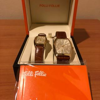 フォリフォリ(Folli Follie)のFOLLI FOLLIEペアウォッチ(腕時計(アナログ))