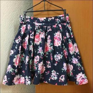 ローリーズファーム(LOWRYS FARM)のローリーズファーム 花柄スカート(ミニスカート)