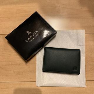 ランバン(LANVIN)のカードケース  名刺ケース(名刺入れ/定期入れ)
