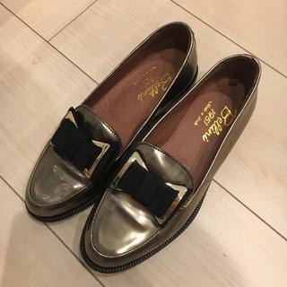 ディエゴベリーニ(DIEGO BELLINI)のDIEGO BELLINI ディエゴベリーニ ローファー  リボン ゴールド(ローファー/革靴)