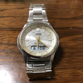 CASIO - 電波ソーラー 腕時計 アナログデジタル