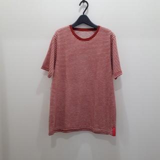 ウィズ(whiz)のWhiz コットン ニット ボーダー Tシャツ ウィズ(Tシャツ/カットソー(半袖/袖なし))