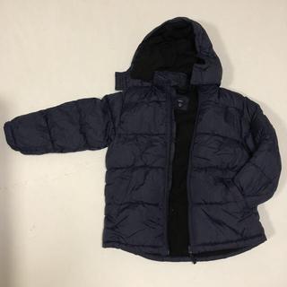 ギャップ(GAP)のGAP KIDS 冬用パーカー ダウンジャケット風 150 紺色(コート)