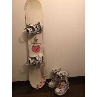 ドレイク(Drake)のスノーボート153 ブーツ23-23.5 バインディングS(ボード)