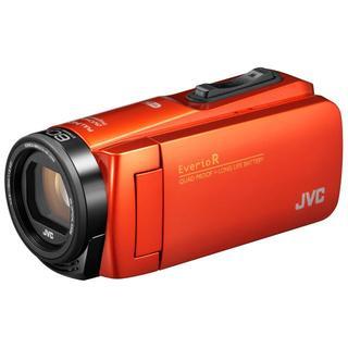 ケンウッド(KENWOOD)の新品☆JVC Everio R GZ-RX680 ブラッドオレンジ(ビデオカメラ)