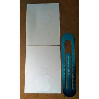 アップル(Apple)の新品未使用 アップルマーク Apple シール ステッカー 4枚(ノベルティグッズ)